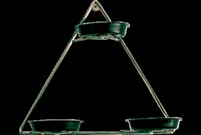 Violeteiro triangulo c/ 3